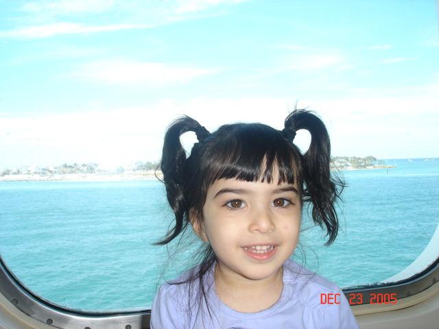 Dalia's first cruise