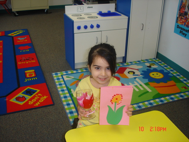 Mother's day at pre-school
