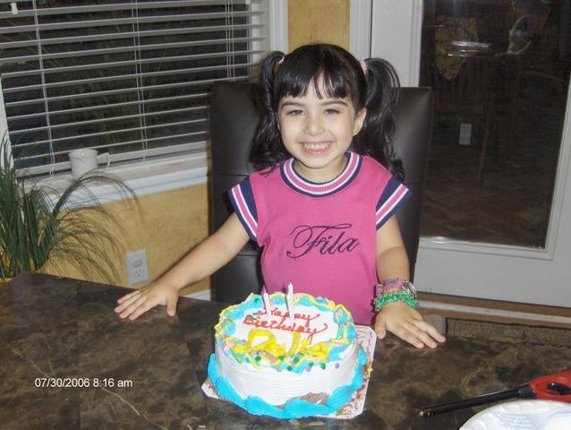 Dalia 2nd birthday