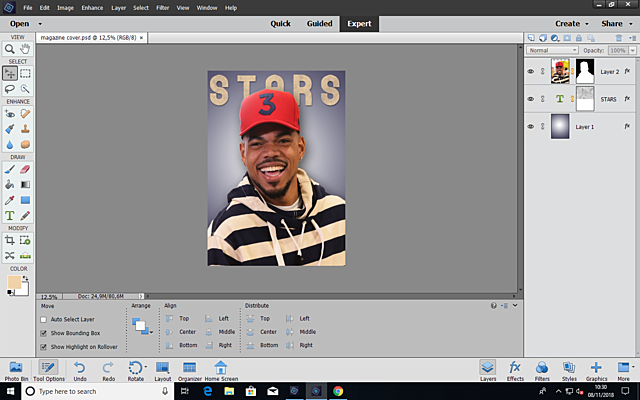 Editing: First Mock Cover