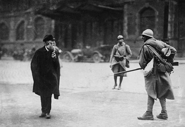 Ocupació del Ruhr per part de tropes franco-belgues