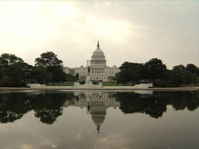 Washington D.C. is chosen as the nation's capital. (P)