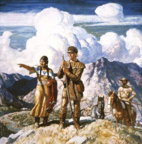 Lewis and Clark's Historic Expedition. (P)