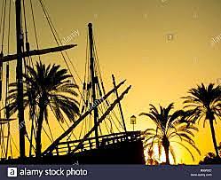Paro de la expedición en las Islas Canarias.