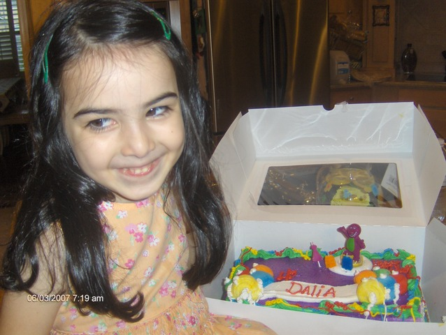 Dalia's 3rd Birthday