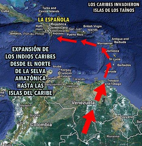 Expansion por el Mar Caribe