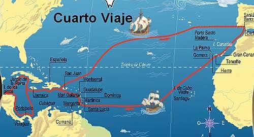 Cuarto viaje de Cristóbal Colón.