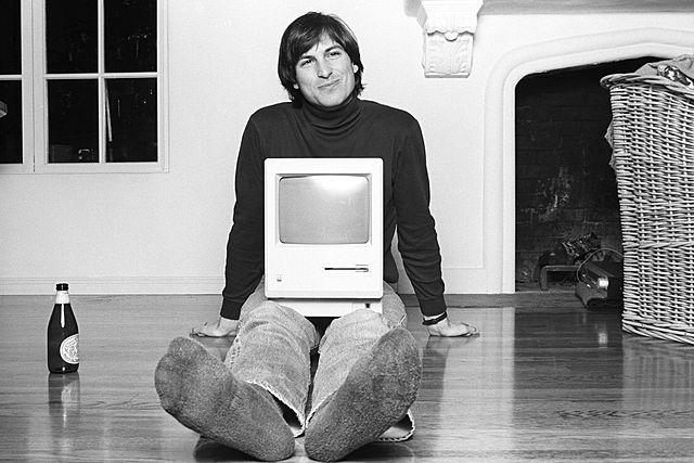sus inicios en apple