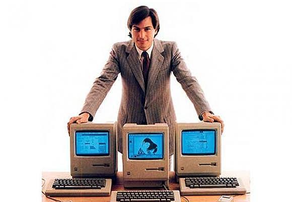 el lanzamiento del primer computador de apple