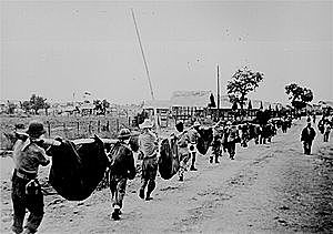 Japanese Atrocities (Bataan Death March)