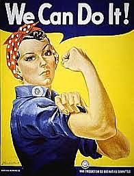 Rosie the Riveter on the cover of The Saturday Evening Post