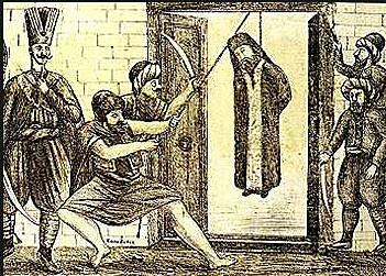 Απαγχονισμός του Πατριάρχη Γρηγορίου Ε΄