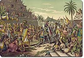 La ciudad de México-Tenochtitlan cayó en poder de los conquistadores españoles.