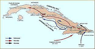 Conquista de Cuba.