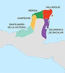 Primera llegada documentada de españoles a México.