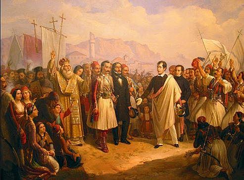 Ο Λόρδος Μπάυρον στο Μεσολόγγι