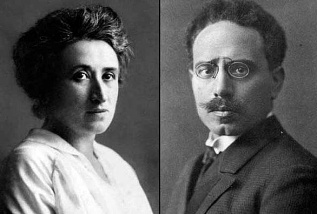 Rosa Luxemburg i a Karl Liebknecht
