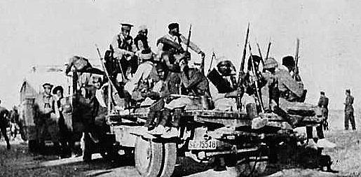 Sublevación en contra del Frente Popular y la República: comienza la rebelión militar que da lugar a la Guerra Civil.