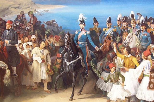 Άφιξη Όθωνα στην Ελλάδα
