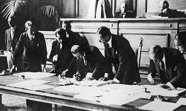 Η συνθήκη του Λονδίνου