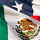 Banderas mexico chile