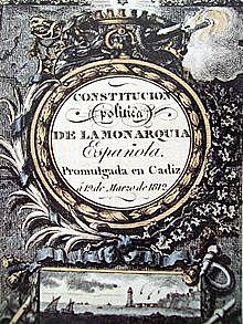 LA PRIMERA CONSTITUCIÓ ESPANYOLA