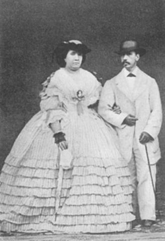 Noces d'Isabel II amb Francesc d'Assís de Borbó.