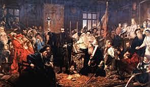 Объединение Польши и Литвы в Речь Посполитую