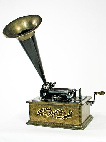 Edison inventa el fonògraf
