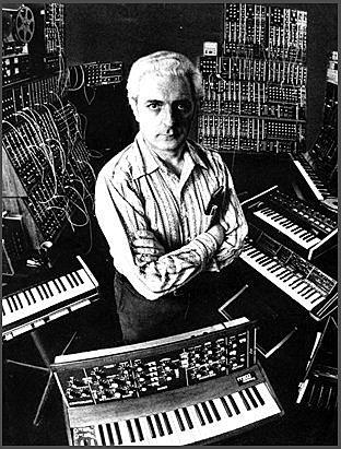 Primer sintetitzador per Robert Moog