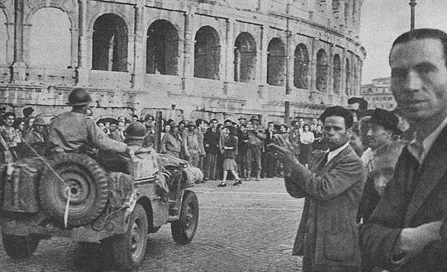 Aliados liberan Roma