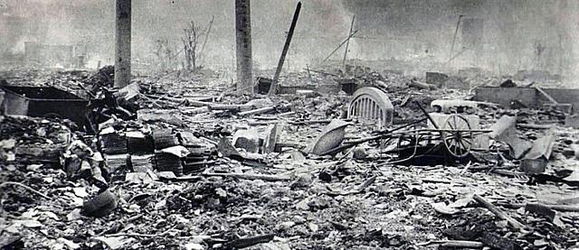 Bombardeo sobre Hiroshima y Nagasaki