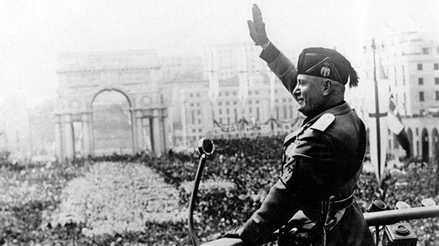 Ascenso del fascismo en Italia