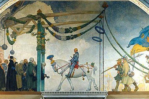 Gustav Vasas intåg i Stockholm