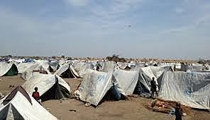Itang refuge camp, Ethipoia, 1991 Salva