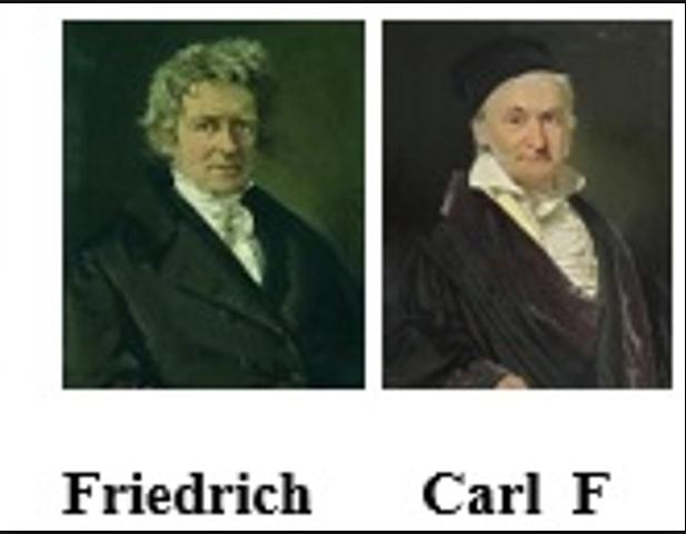 W. Bessel (1784-1846) y Carl F. Gauss (1777-1855)