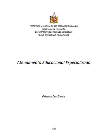 Revisão de documento - AEE