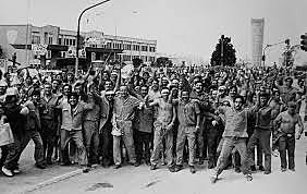 Huelgas y represión obrera