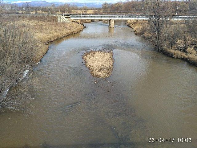 Мост через Ульбинку