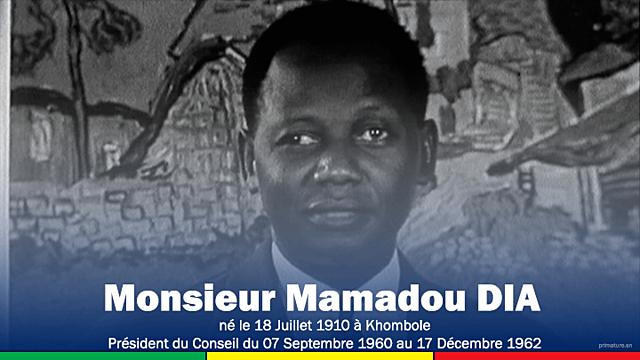 Mamadou Dia (7 septembre 1960 - 17 décembre 1962