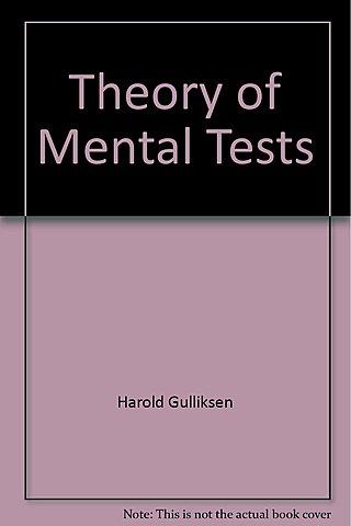 Teoría Clásica de los Tests