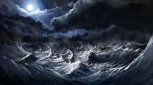 """""""En una tempestad""""-Jose Maria Heredia-Poesía"""
