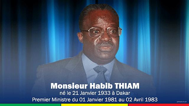 Habib Thiam (1 janvier 1981 - 3 avril 1983)
