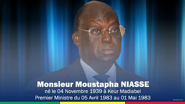 Moustapha Niasse (5 avril 1983 - 1 mai 1983)
