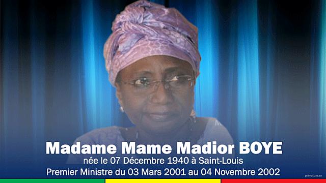 Mame Madior Boye (3 mars 2001 - 4 novembre 2002)