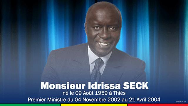 Idrissa Seck (4 novembre 2002 - 21 avril 2004)