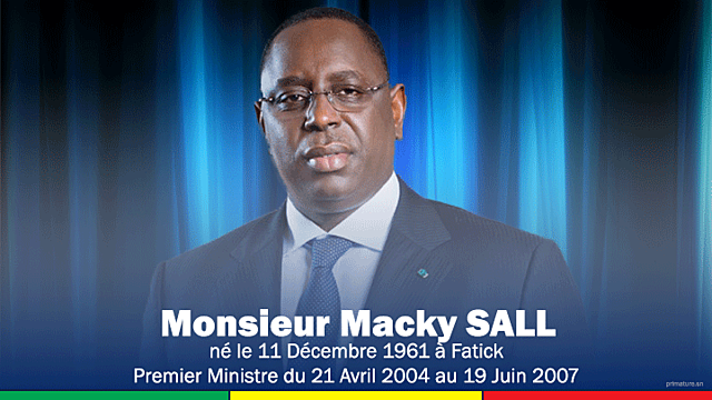 Macky Sall (21 avril 2004 - 19 juin 2007)