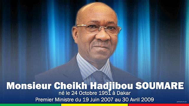 Cheikh Hadjibou Soumaré (19 juin 2007 - 30 avril 2009)