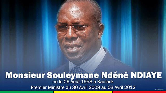 Souleymane Ndéné Ndiaye (30 avril 2009 - 03 avril 2012)