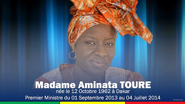Aminata Touré (1 septembre 2013 - 4 juillet 2014)